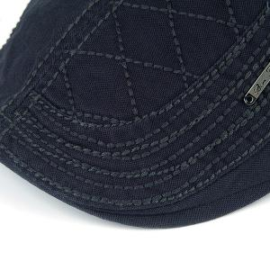 UV Protection Jeff Cap with Alloy Label - CADETBLUE