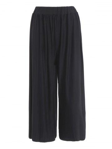 Latest Plus Size Pleated Palazzo Pants