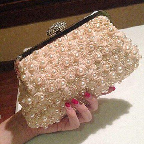 Shops Petals Beaded Bags - PINKBEIGE  Mobile