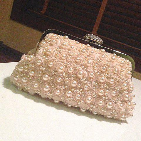 New Petals Beaded Bags - PINKBEIGE  Mobile