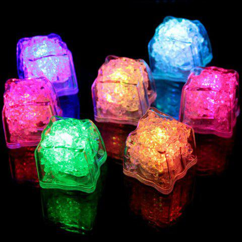 Chic Creative LED Light Up Flashing Ice Cube COLORMIX