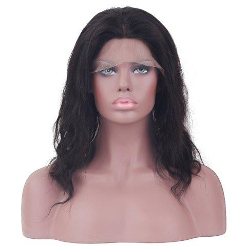 Long Curly Middle Part Lace Front Human Hair Wig