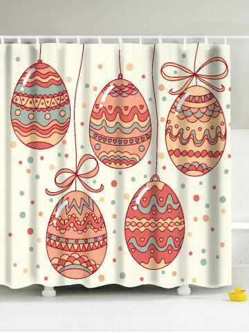 Sale Easter Egg Eco-Friendly Antibacteria Shower Curtain - 180*200CM PALOMINO Mobile
