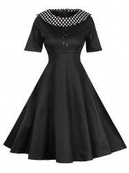 Retro Polka Dot Pin Up Dress