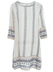 Printed Plus Size Tunic Top -