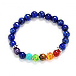 Natural Multicolor Artificial Lapis Bracelet - MULTICOLOR