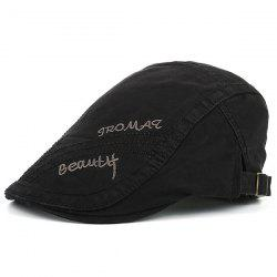 Tromaq Beautlf broderie Protection UV Jeff Cap - Noir