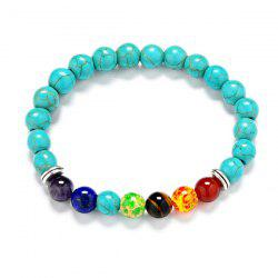 Bohemian Turquoise Beaded Bracelet - MULTICOLOR