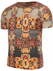 Vintage Printed Short Sleeves T-Shirt
