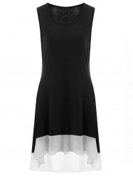 High Low Plus Size Tank Dress