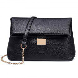 Chains Cross Body Fold Down Bag