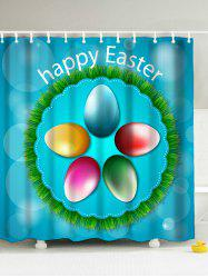 Happy Easter Polyester Shower Curtain