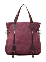 Zipper Canvas Handbags