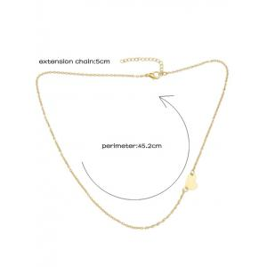 Heart Chain Necklace - GOLDEN
