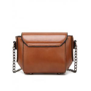 Metal Detial Mini Cross Body Bag -