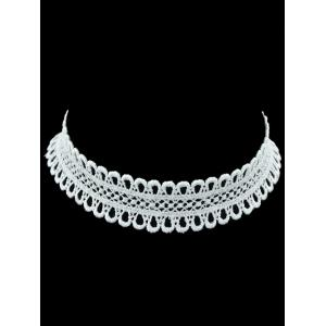 Lace Crochet Hollow Out Choker Necklace
