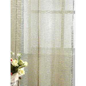 European Style Sheer Tulle Curtain For Living Room - PALOMINO 100*250CM