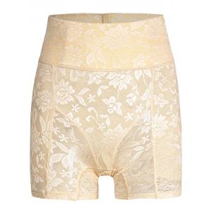 High Waisted Lace Panties Boyshorts