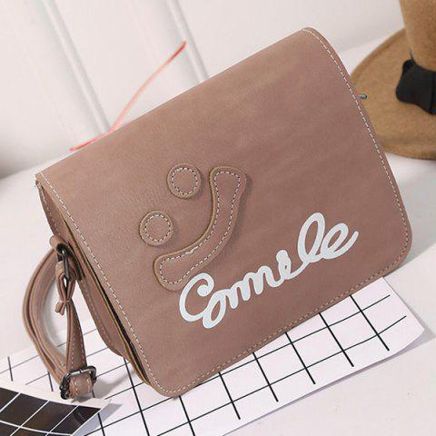 Outfits Smile Cross Body Flap Bag