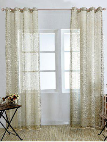 Shops European Style Sheer Tulle Curtain For Living Room - 100*250CM PALOMINO Mobile