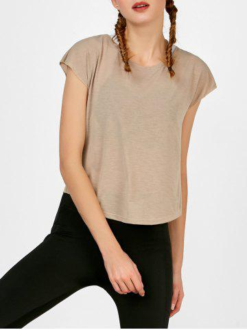 Self Tie active Surplice Top
