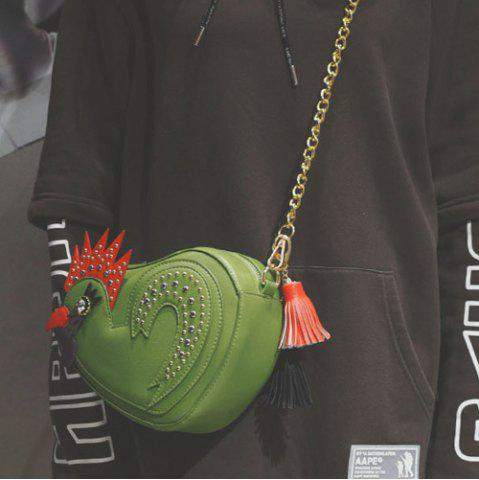 Sale Chicken Shaped Tassel Crossbody Bag