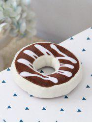 Plush Doughnut Shape Fridge Magnet