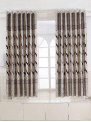 Europe Wave Jacquard Shading Blackout Curtain