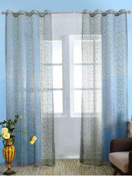 European Style Sheer Tulle Curtain For Living Room - GRAY 100*250CM