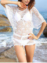 Skulls Openwork See-Through Cover-Ups Bathing Suit