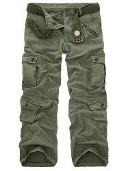Pockets Design Military Cargo Pants
