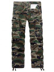 Camouflage Multi Pockets Army Cargo Pants