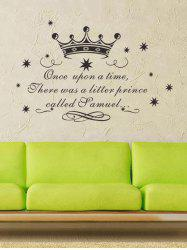 Removable Children Room Fairy Tale Wall Art Sticker For Bedroom