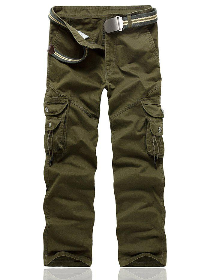 Buy String Embellished Multi Pocket Cargo Pants