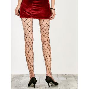 Large Loop Design Fishnet Pantyhose -