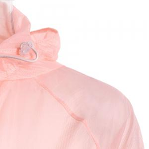 Ultra Windbreaker Skin Thin Hooded Sun Protection Raglan Sleeve - Rose Clair TAILLE MOYENNE
