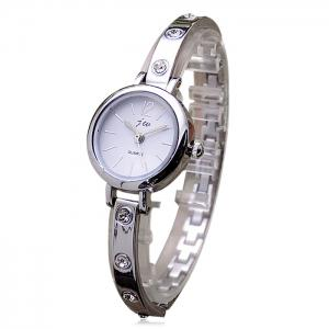 JW Alloy Strap Analog Wrist Watch