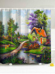 The Mountain Hut 3D Shower Curtain