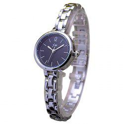 JW Minimalist Alloy Strap Analog Watch - BLACK