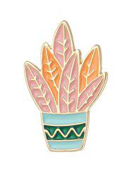 Brooch Cactus - Orange