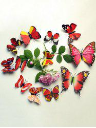 12 Pcs Simulation Butterfly Home Decor Wall Stickers