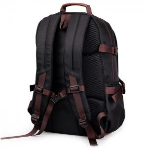 Casual Pad Shoulder Straps Nylon Backpack -