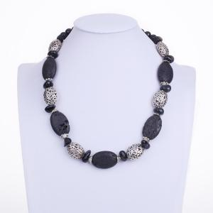 Bohemian Artificial Gem Beaded Necklace