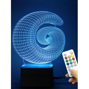 3D Illusion Color Change Conch Shaped Night Light Best Gift