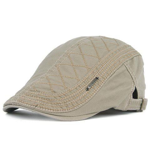 Fancy UV Protection Jeff Cap with Alloy Label - OFF-WHITE  Mobile