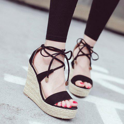Online Espadrilles Wedge Heel Sandals