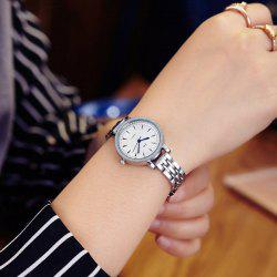 JW Minimalist Alloy Band Wrist Watch