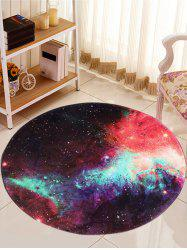 Round Star Night Print Antislip Caroset Rug