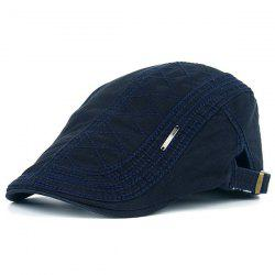 UV Protection Jeff Cap with Alloy Label -