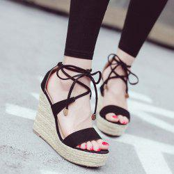 Espadrilles Wedge Heel Sandals